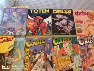 lote 8 cómics adultos