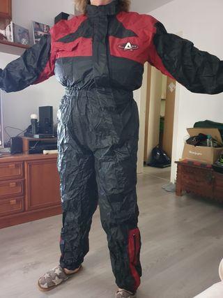 Mono impermeable de moto para mujer
