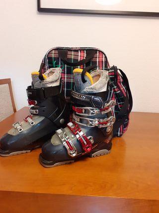 Botas de esquí Salomon talla 36,5 (23cm)