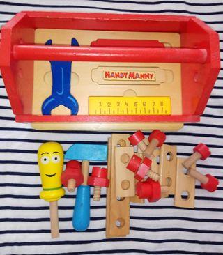 Caja herramientas Manny manitas