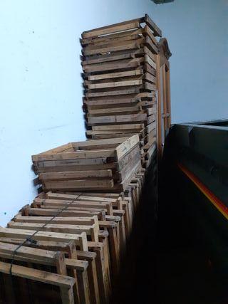 Cuadros y cajas de colmenas layens