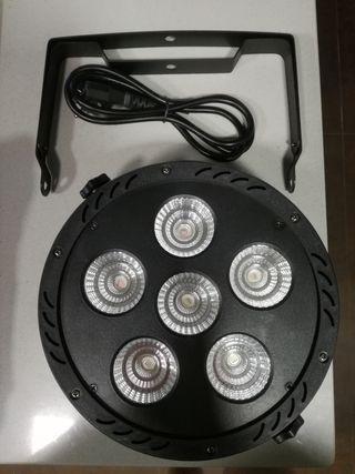 Foco proyector disco led Con 180w, RGB,DMX nuevo
