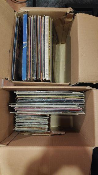mas de 60 discos vinilo