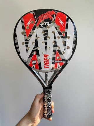 Pala Pádel Steel Custom Tiger 2020