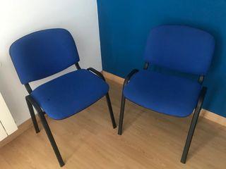 Se venden dos sillas de oficina/escritorio
