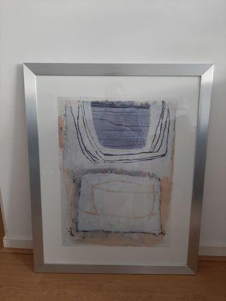 Framed paintings (x2)