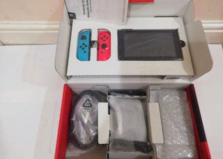 Nintendo switch with super mario odessy