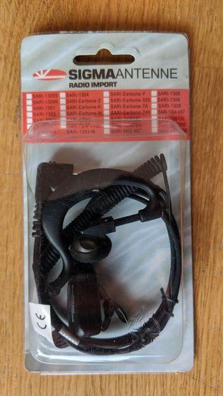 Pinganillo para walkie talkie Sigma Antenne