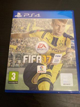 Videojuego Fifa 17 ps4