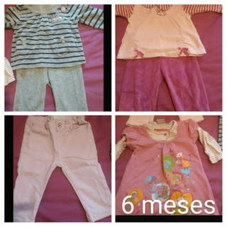 lote ropa niña de 3 a 6 meses