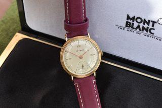 Reloj Cyma años 40 en oro 18 kilates ,precioso