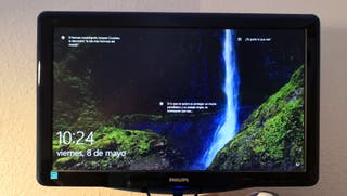 Ordenador PC Acer Aspire y monitor Philips