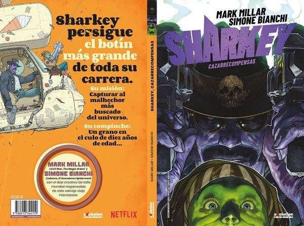 SHARKEY, CAZARRECOMPENSAS MARK MILLAR
