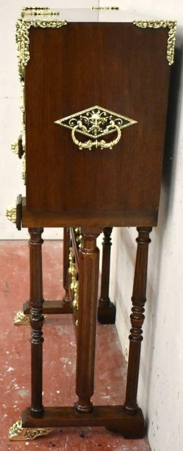 Bargueño español de finales siglo XIX, restaurado