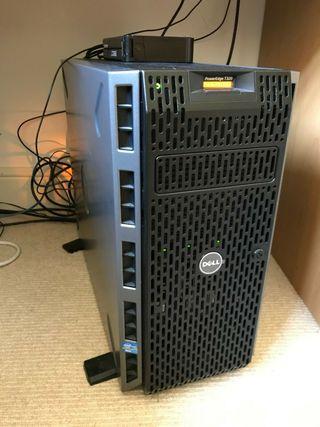Servidor Dell PE T320 Intel XEON E5-2403V2 3x 2TB