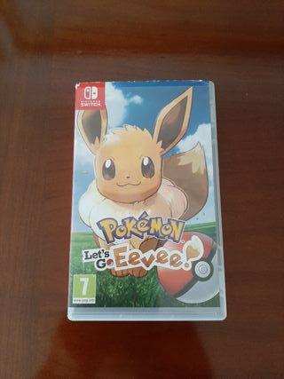 Pokémon Let's go Eevee.