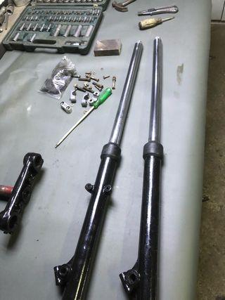 Barras betor suspension puch cobra mc75 m80 tt