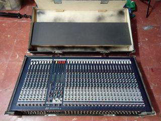 mesa de mezclas Soundcraft Lx7 II 32 canales