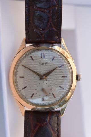 Reloj Piaget años 40 en oro 18k :de coleccionista