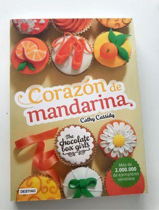 Libro Corazón de Mandarina
