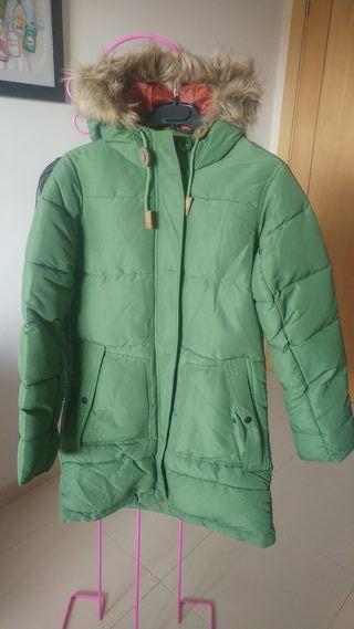 Chaquetón verde Hosiery talla S nuevo!