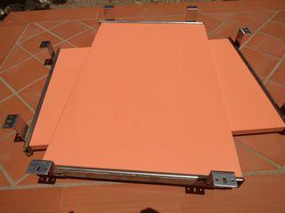 2 bases deslizantes mesa escritorio