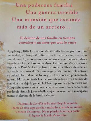 Libro: LAS HIJAS DE LA VILLA DE LAS TELAS