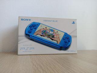 CAJA PSP 3000 COMPLETA Vibrant Blue