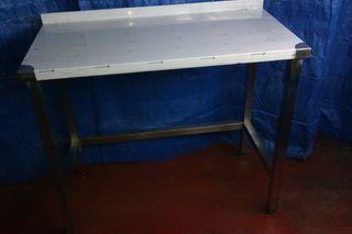 mesa acero inox 1000x500x850 nueva