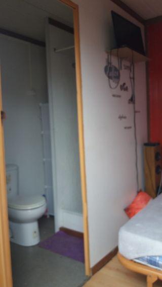 caseta movil 2 habitaciones