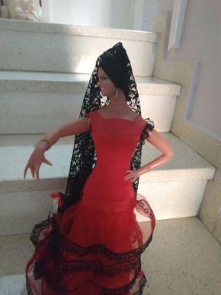 Muñeca Gitana autentica de colección