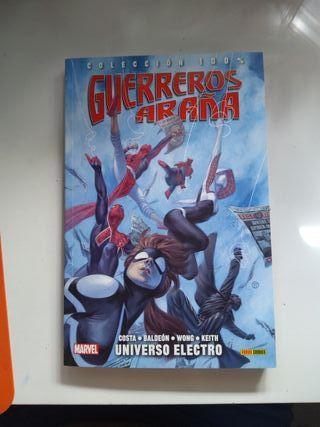 Guerreros araña 1 Universo Electro Costa Baldeon