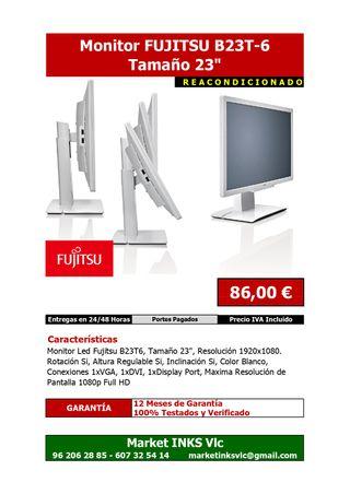 "Monitor Reacondicionado FUJITSU B23T6 23"""