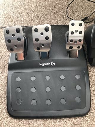 Logitech Steering wheel and pedals and gearstick