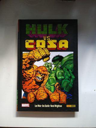 Hulk Vs La cosa Starlin Wrightson wein