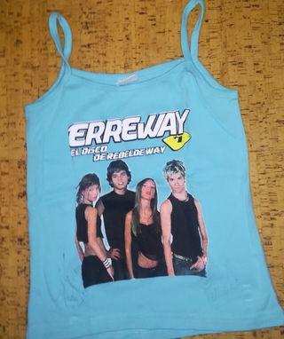 Camiseta Erreway firmada