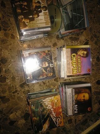 60 CD de música clásica, operas ,