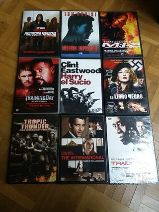 DVD Películas de acción I