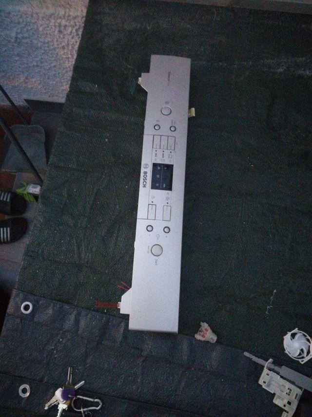 panel de mandos lavavajillas