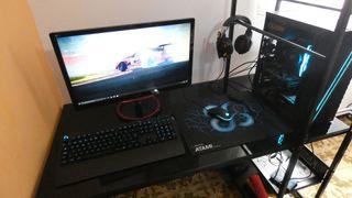 PC Gaming + Teclado y ratón + Pantalla 144Hz