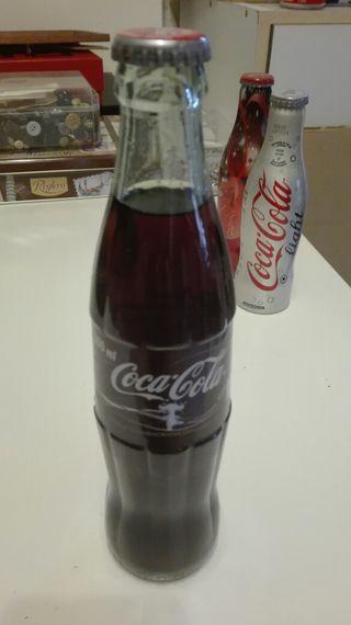 Coleccion de latas y botellas refresco