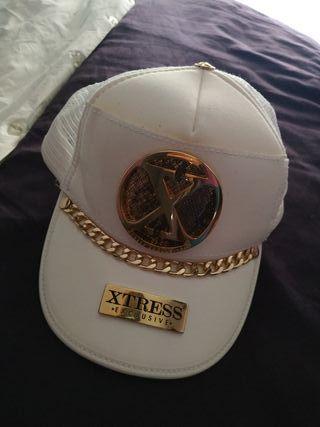 gorra xtress blanca