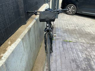 Bicicleta TREK DUAL HOMBRE híbrida para caminos