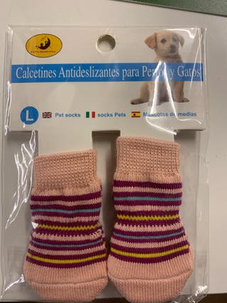 Calcetines antideslizantes perro