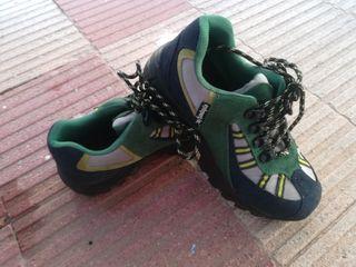 zapatos con protección