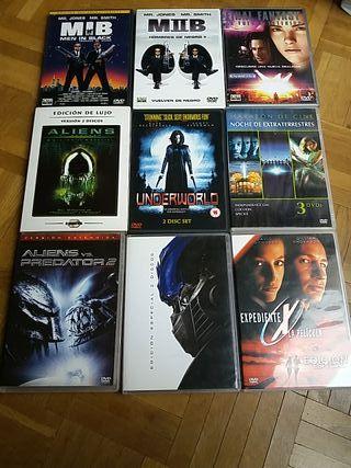 DVD Películas Ciencia Ficción I
