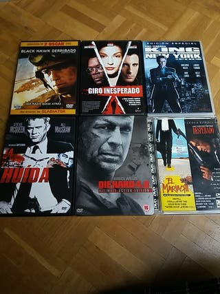 DVD Películas de acción II