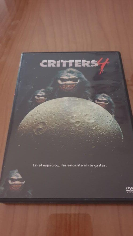 Critters saga 1,2,3,4 Dvd Descatalogados