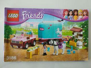 Lego Friends 3186 Remolque de caballos