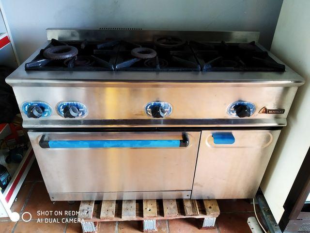 cocina industrial hostelería gas natural